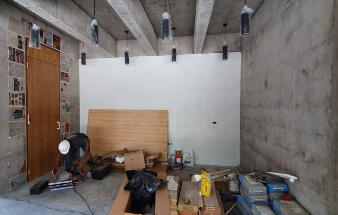 States Diner Cafe construction (2)