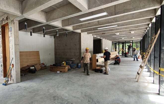 States Diner Cafe construction (3)